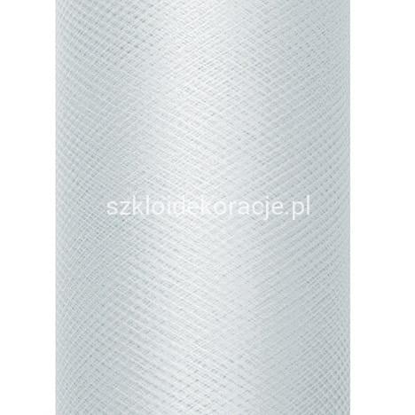 c9941580 Tiul Gładki na Szpulce Szary 50 cm x 9 m