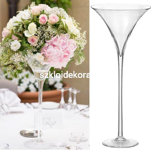 Wazon Szklany Martini 60cm ϕ 15cm