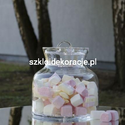 Słoik Ozdobny Na Słodycze 20 Cm