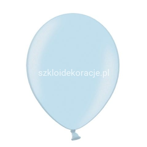 Balony Metallic Baby Blue 23 cm / 100 szt.