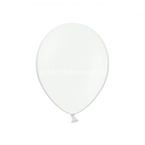 Balony strong pastel pure white 23cm 100 szt.