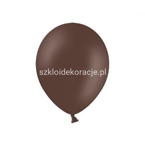 Balony strong pastel cocoa brown 23cm 100 szt.