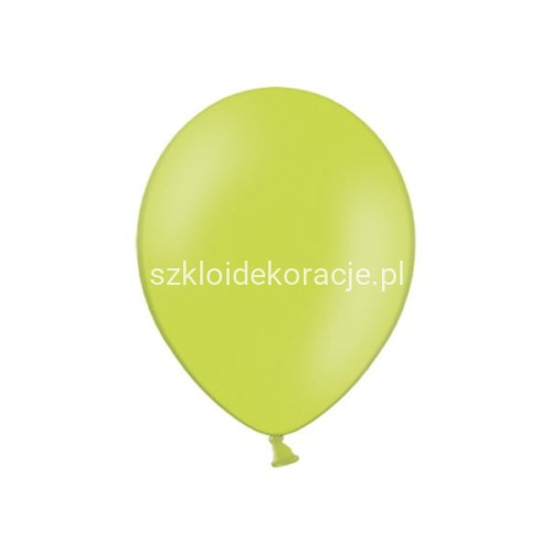 Balony strong pastel lime green 23cm 100 szt.
