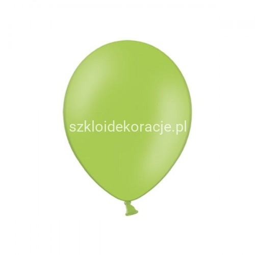 Balony strong pastel bright green 23cm 100 szt.